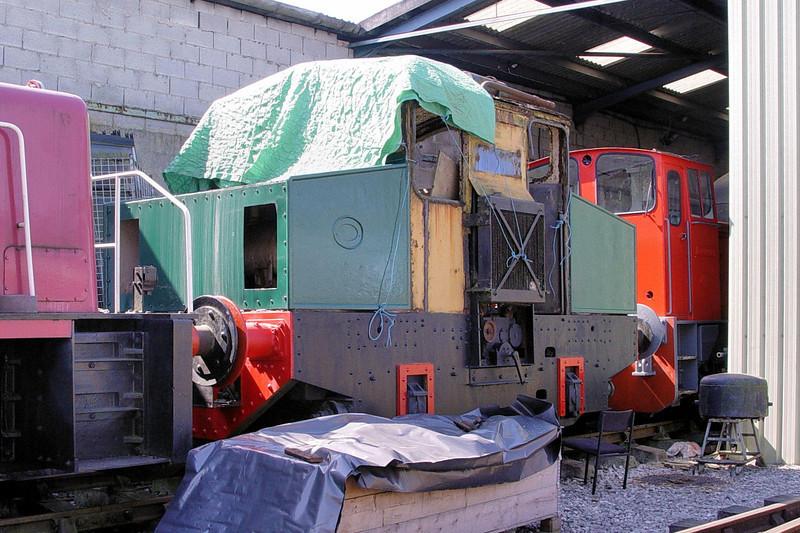 2262 Motor Rail 4wDM - Foxfield Railway