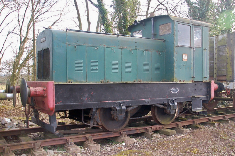 RH 408496 - Foxfield Railway - 26 February 2012