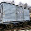 117870 LMS Vent Van Plank - Foxfield Railway