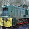 3150 W Bagnall 0-6-0DM - Foxfield Railway