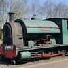 2221 'Lewisham' W Bagnall 0-6-0ST - Foxfield Railway