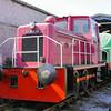 486 A Barclay 0-6-0DH - Foxfield Railway