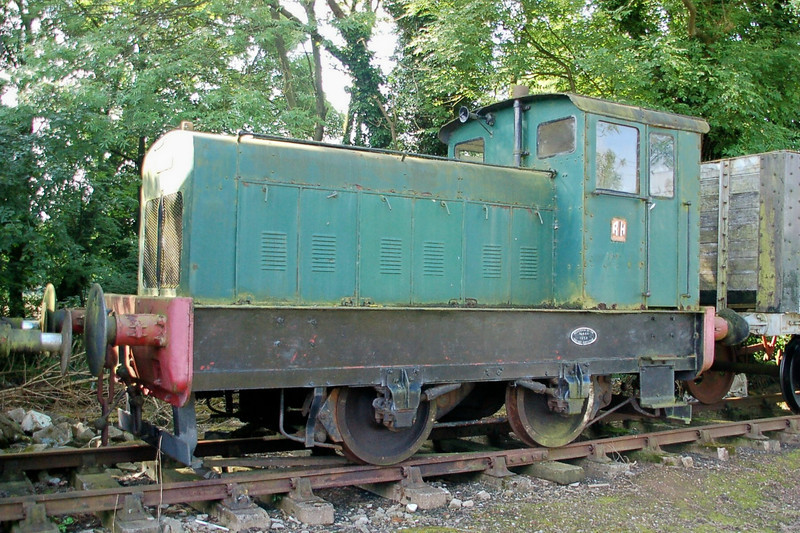 RH 408496 - Foxfield Railway - 21 July 2012