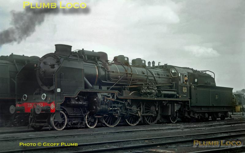 231 G 553, Batignolles, 30th July 1961