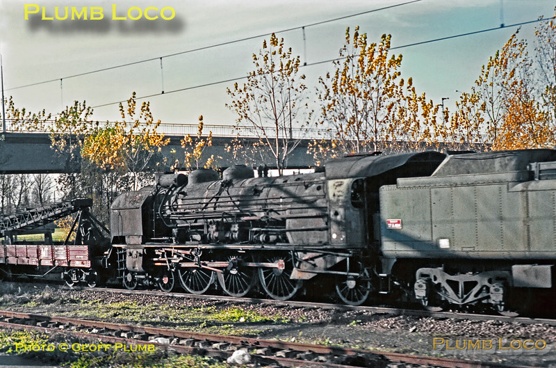 SNCF, Unidentified 231K Pacific, Tours, 12th November 1969