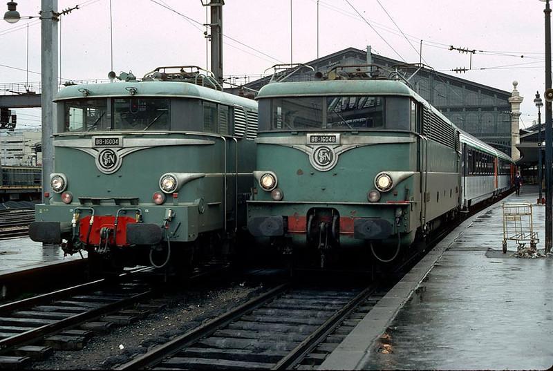 BB16004/16048 Paris Nord 6th Dec 1981