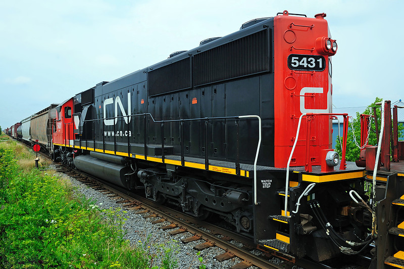 Canadian National #324, Lacadie, Quebec