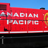 Canadian Pacific AC4400CW #8579.   Repainted with the ``Golden Rodent``