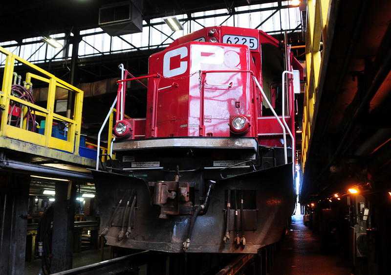 Canadian Pacific # 6225 St Luc Diesel Shop, Montreal