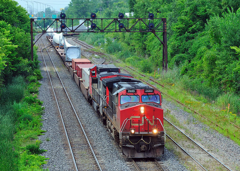 CN 394, CN Montreal Subdivision, Ballantyne Qc