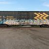 Boxcar ONT 7746. Graffitti.