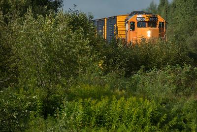 Freight train 419 2015 August 25th Moosonee