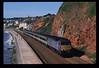 57601 passes Rockstone Bridge, with 1A43 0920 Plymouth-Paddington