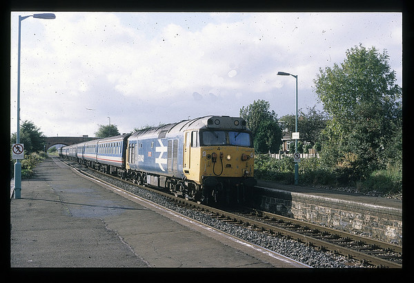 50042 Pinhoe on Exeter St Davids ~ Waterloo