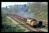 37230 passes Gaer Junction, Newport at 09.35 with 43 dogfish on 7B48 11.00 A. D. J. - Machen running 88 minutes early 07-04-1997