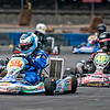 "Pro Go Karts at the ""Racing the Rockies"" event, held at the Denver Pepsi Center, August 8, 2010."