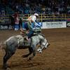 Bronco bustin' at the National Western Stockshow, Denver, Colorado