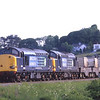 37605 and 37612 seen near Grange heading for Crewe, 5/6/2013.