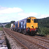 20315 and 20311 thrash away from Grange on their way Crewe, 16/7/2005.