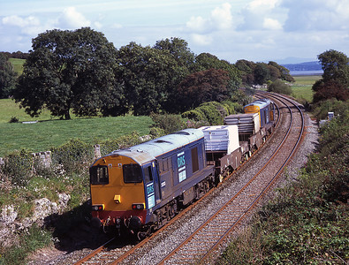 20303 brings up the rear of the Heysham flasks 29/8/07.
