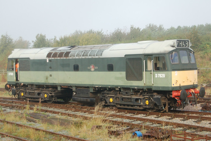 D7629 - Ruddington, GCR (N) - 7 October 2012
