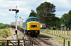 45149 approaches Gotherington 27/07/14 at 1144 working 2L64 1130 Cheltenham Race Course - Laverton