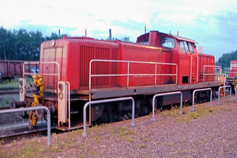 294 727-3 - Stolberg Hbf - 24 July 2015