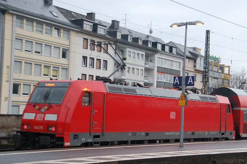 146 276 - Koblenz Hbf - 27 March 2016