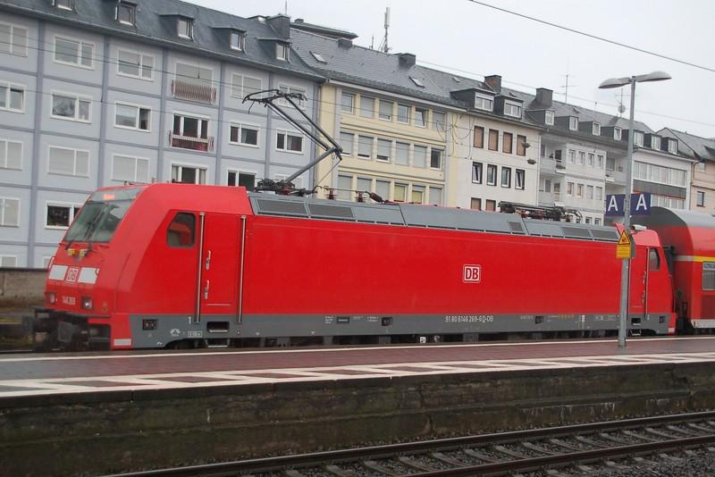 146 269 - Koblenz Hbf - 27 March 2016