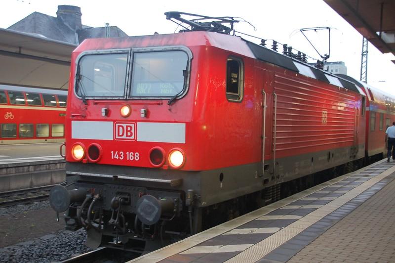 143 168 - Koblenz Hbf - 27 March 2016