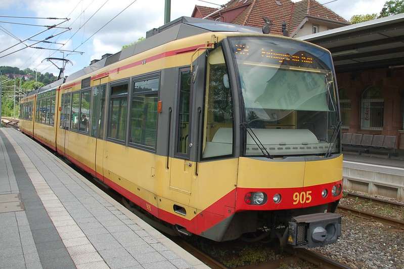 AVG 905 - Freudenstadt Hbf - 31 May 2017