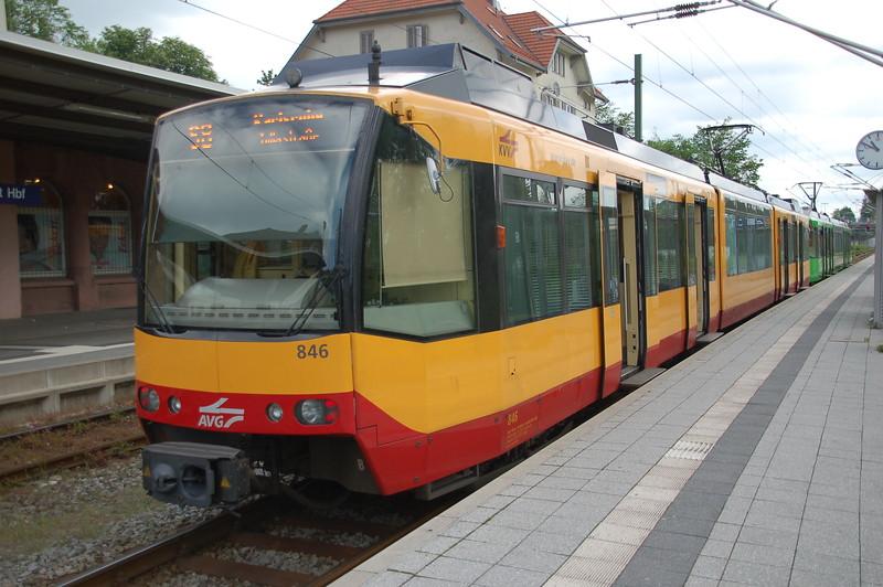 AVG 846 - Freudenstadt Hbf - 31 May 2017