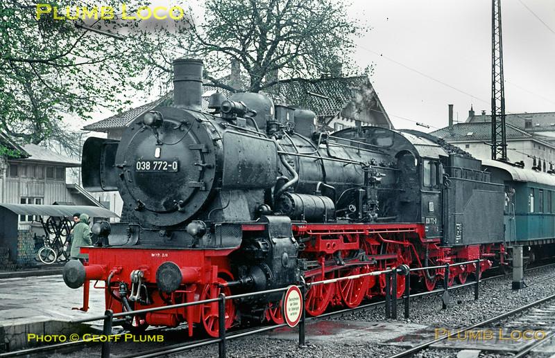 038 772-0, Tübingen HBf, 3rd May 1970