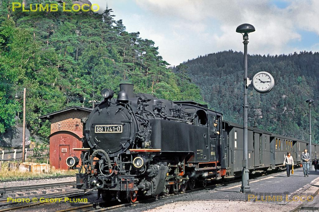 DR No. 99 1741-0, Kurort Oybin, 13th September 1971