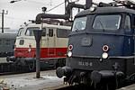 DB 110 410-8 & 112 500-4,  Köln Hbf , 4th April 1971