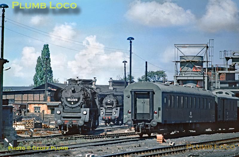 GV Schwerin Loco Shed, 11th September 1971