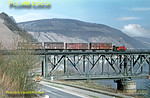 DB Kleinlok, Bullay Viaduct, 5th April 1971