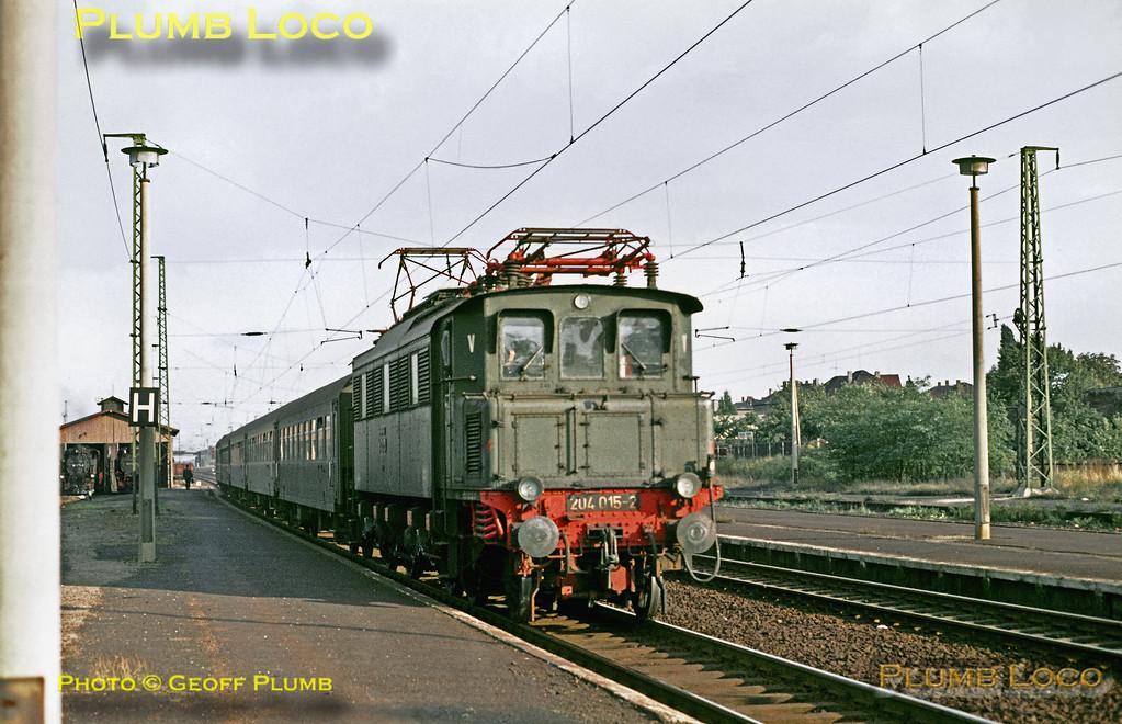 DR No. 204 015-2, Radebeul Ost, 13th September 1971