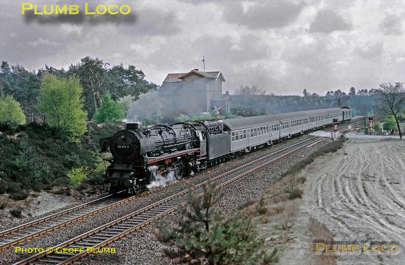 DB No. 012 075-8, near Lathen, E1937, 23rd April 1974