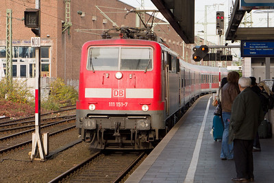Düsseldorf Hbf: train to Venlo