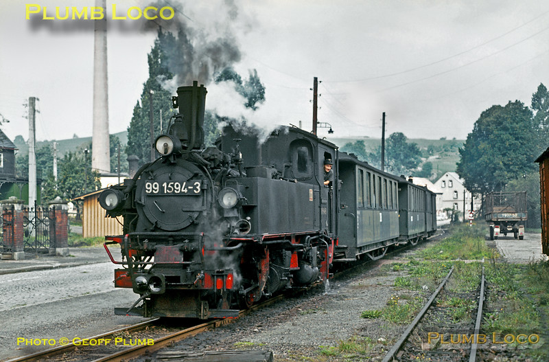 DR No. 99 1594-3, Cunersdorf, 15th September 1971