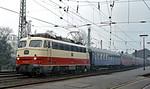 DB 112 502-0, Bonn Hbf, 4th April 1971
