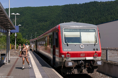 At Traben-Trarbach station