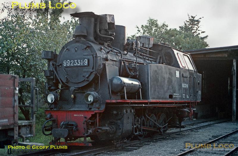 DR No. 99 2331-9, Kühlungsborn Depot, 11th September 1971