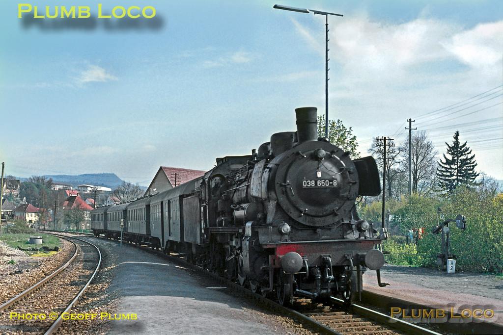 DB 038 650-8, Dusslingen, 6th May 1970