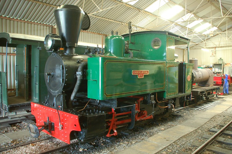 HE 2075 Chaha's Kraal No.6 - North Gloucestershire Railway - 27 May 2017