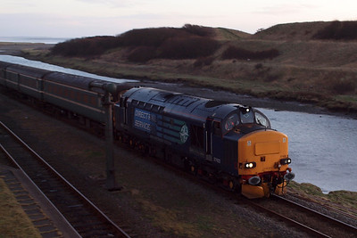 37423 Spirit of the Lakes at Sellafield. 23/01/12.