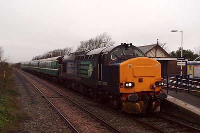 37423 Spirit of the Lakes at Ravenglass. 04/01/12.