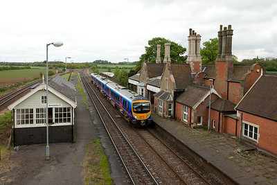 185 149 as First Transpennine Express in Brocklesby Junction.