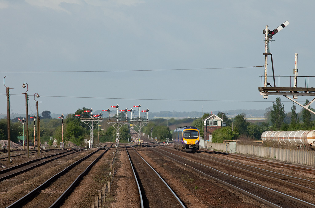 185 130 to Cleethorpes in Wrawby Junction.